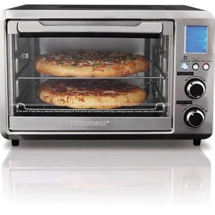 Farberware 25l Digital Toaster Oven Silver Camper Ideas Digital Toaster Oven Countertop Oven Toaster