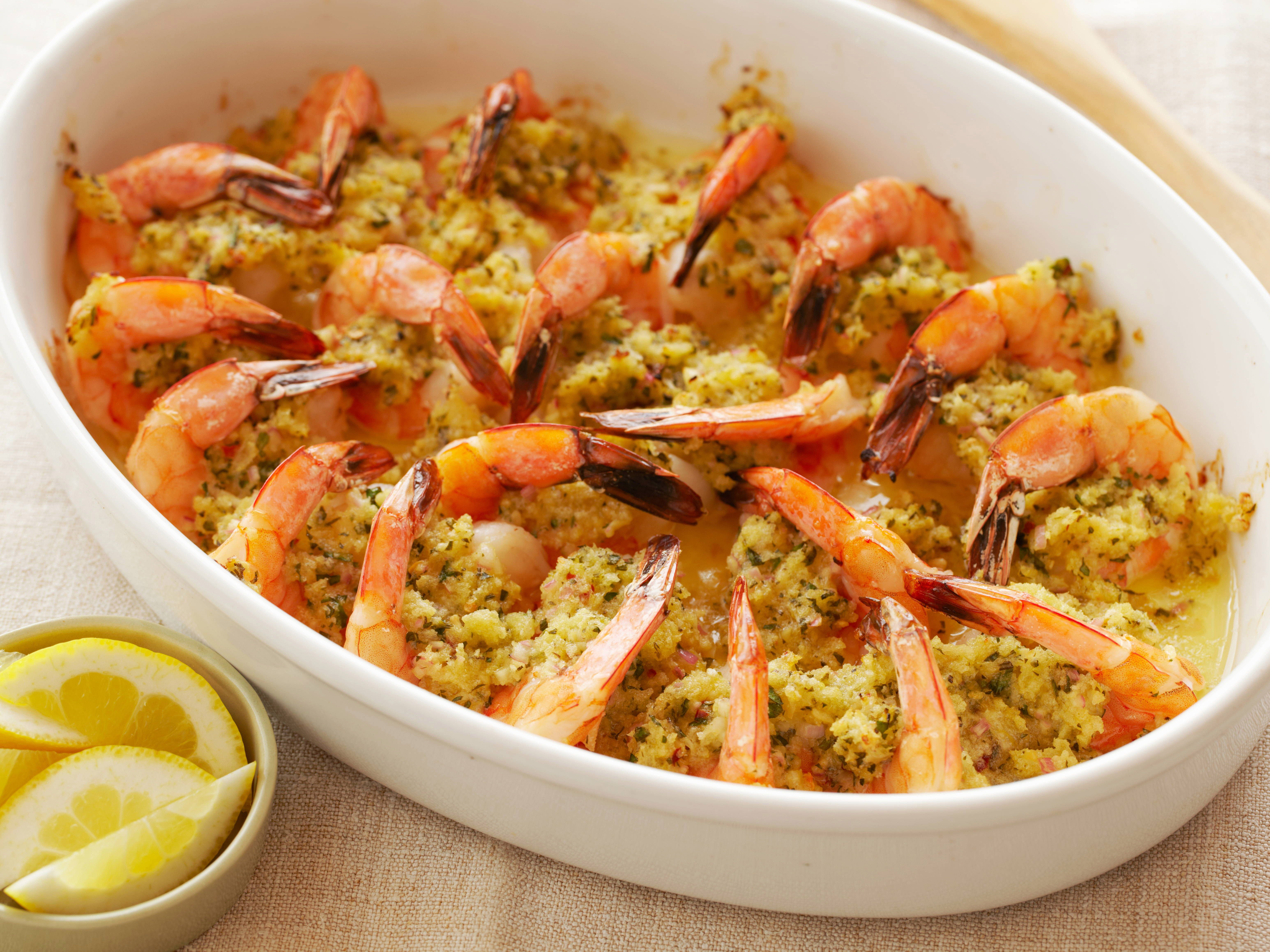 Baked shrimp scampi recipe baked shrimp scampi scampi recipe baked shrimp scampi recipe ina garten i made this for mimis birthday tea and it forumfinder Image collections