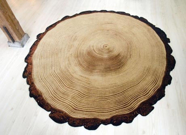 Yvette Laduk's Woody Wood Rug