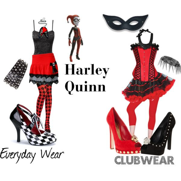 """""""Harley Quinn"""" by jennie-tupper on Polyvore"""