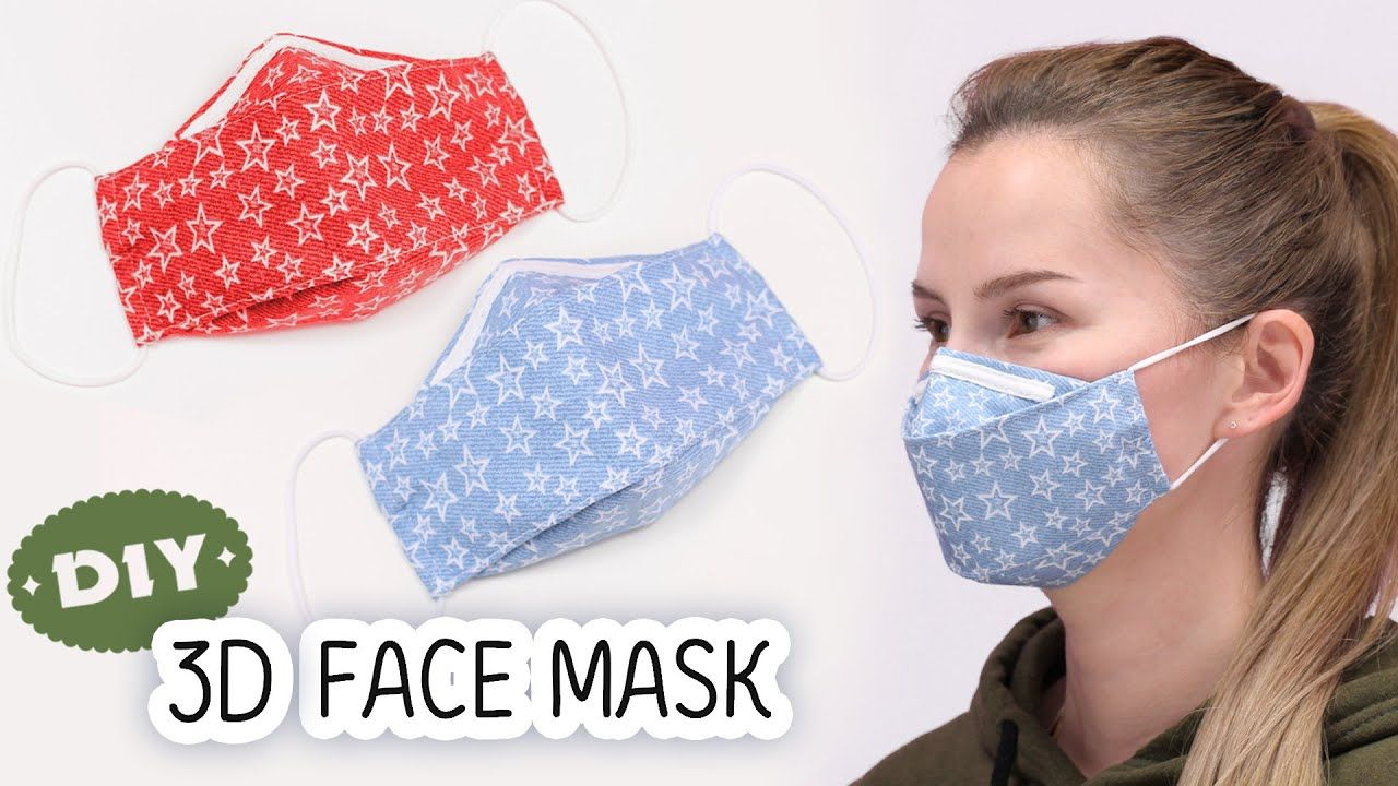 Reusable Mask Diy Interchangeable Filter By Ithinksew Free