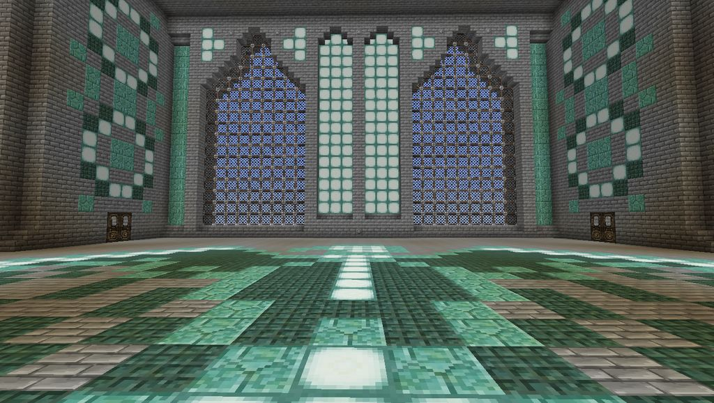 Minecraft Incomplete Jewel District Castle Ballroom Follow The