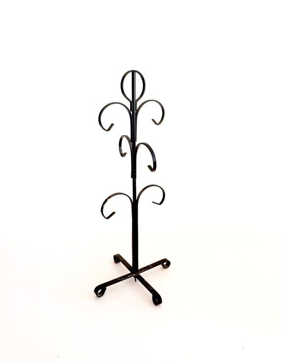 Cup Tree Stand/ Mug Rack by 1006Osage on Etsy #storage, #vintagekitchen, #retrokitchen, #cuptree, #mugstand