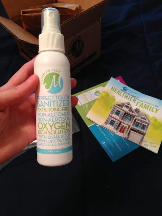 Organic & Toxic Free Sanitizer Safe For Kids!