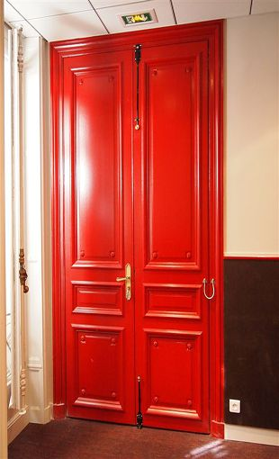 Porte Paliere Haussmann Deco Mirrors Doors Windows - Porte paliere
