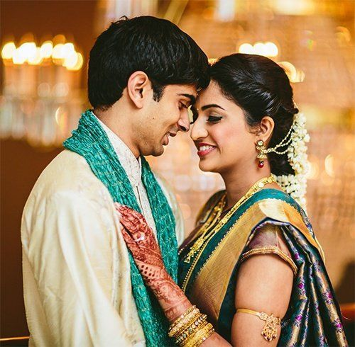 Wedding Poses For The South Indian Bride | Indian wedding