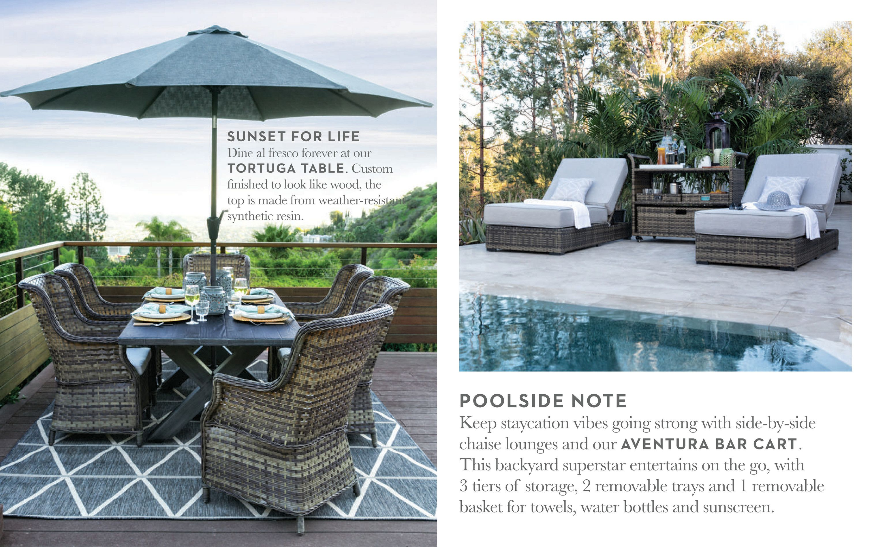 living spaces - outdoor 2018