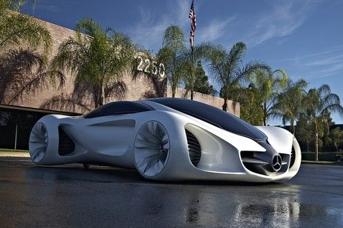 Bon Mercedes Benz BIOME Concept. Do The Wheels And Tires Touch The Ground?