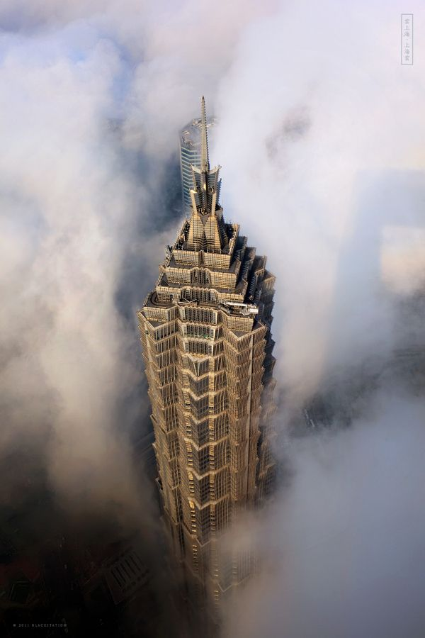 THE SKY CITY by black station, via Behance