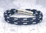 love! gifted myself again @Leslie Swearingin & Line nautical bracelets handcrafted in Newport, RI Sale: Chatham Navy Wrap