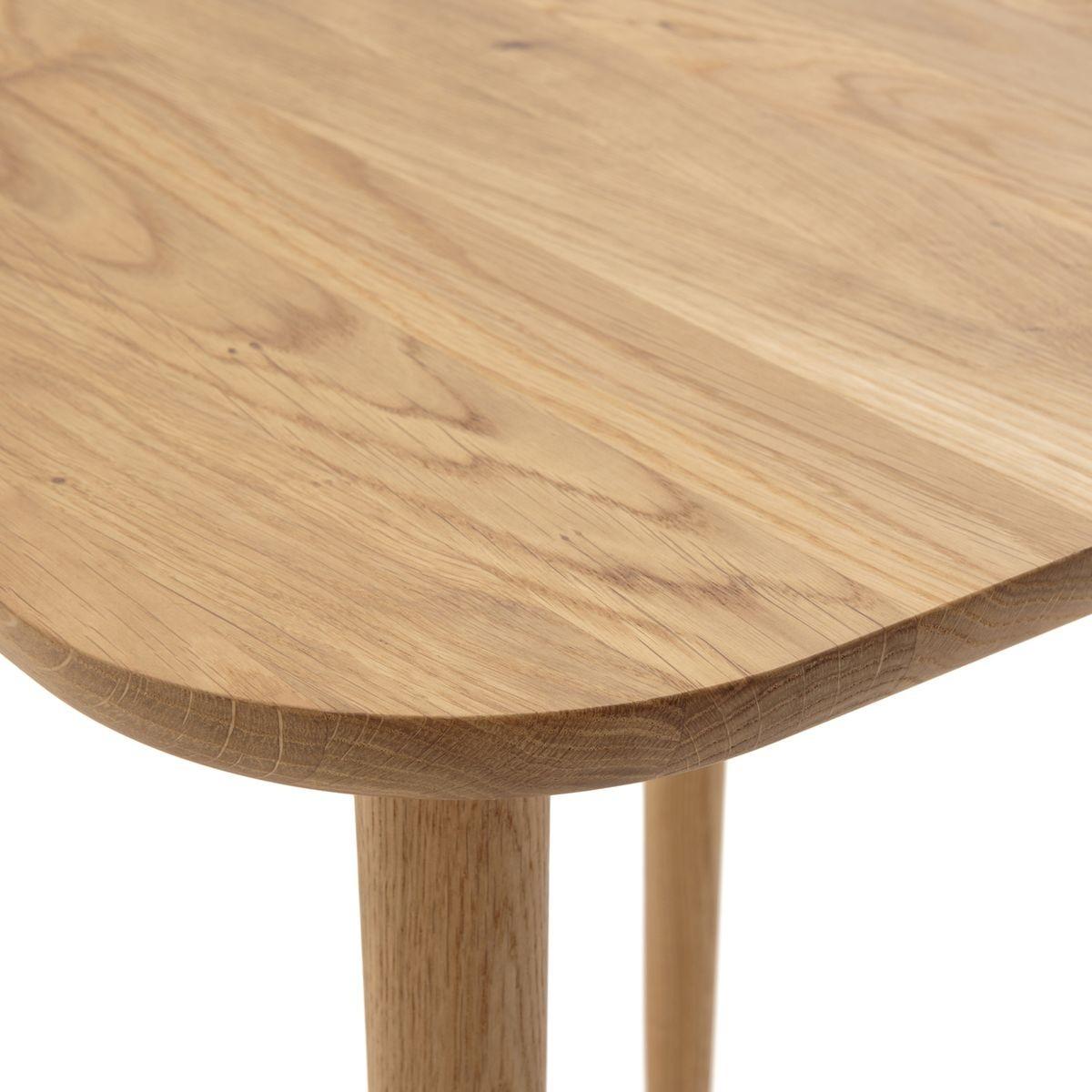Basse Chêne Haute Table Carrée Crueso TailleUnique En W29EIHDY