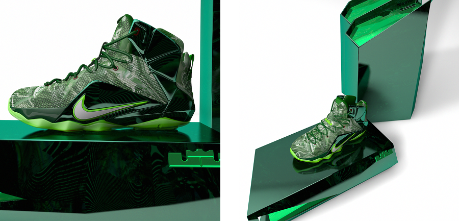lebron 12 quotfuture soldierquot concept colorway nike