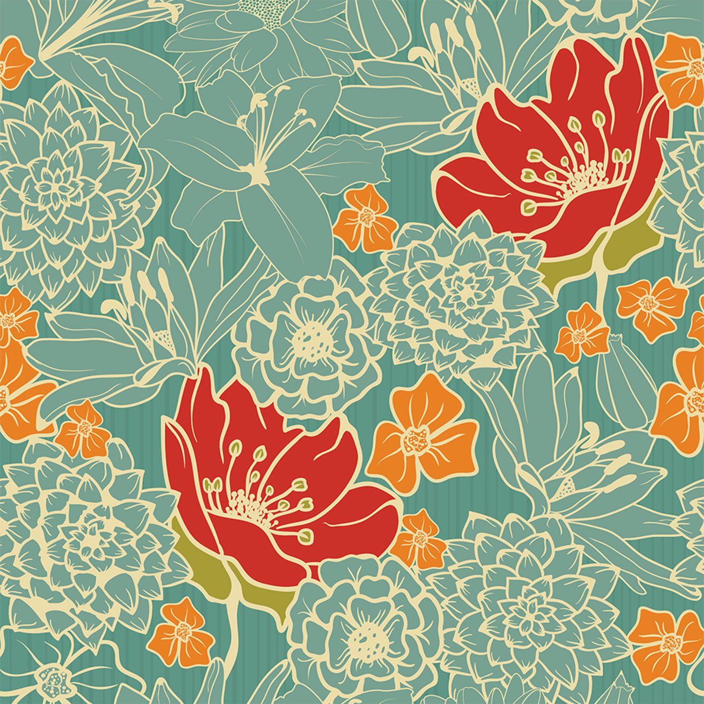 Dandelion Clocks Wallpaper By Sanderson In 2020 Clock Wallpaper Dandelion Clock Dandelion Wallpaper