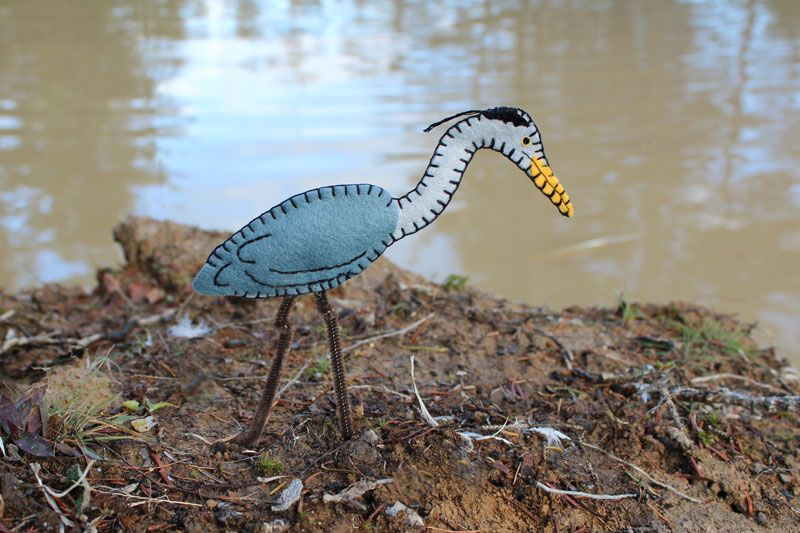 Great Blue Heron Ornament