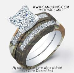Incroyable Camo Wedding Rings On Pinterest Camo Rings Pink Camo Wedding Camo Wedding  Ring Sets With Real