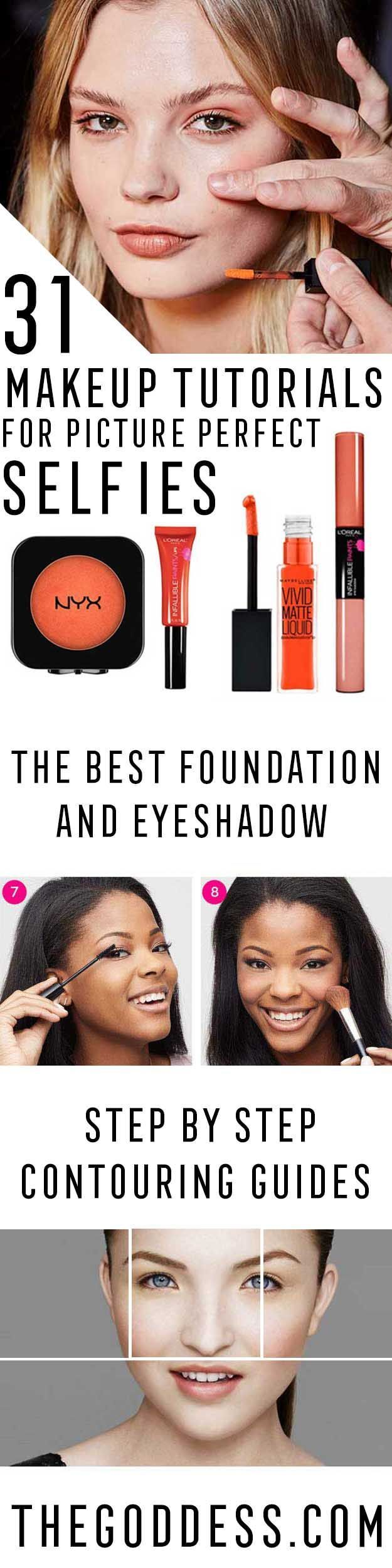 Makeup Tutorials for Picture Perfect Selfies – Tips, Ideas, And Tricks For Makeu…