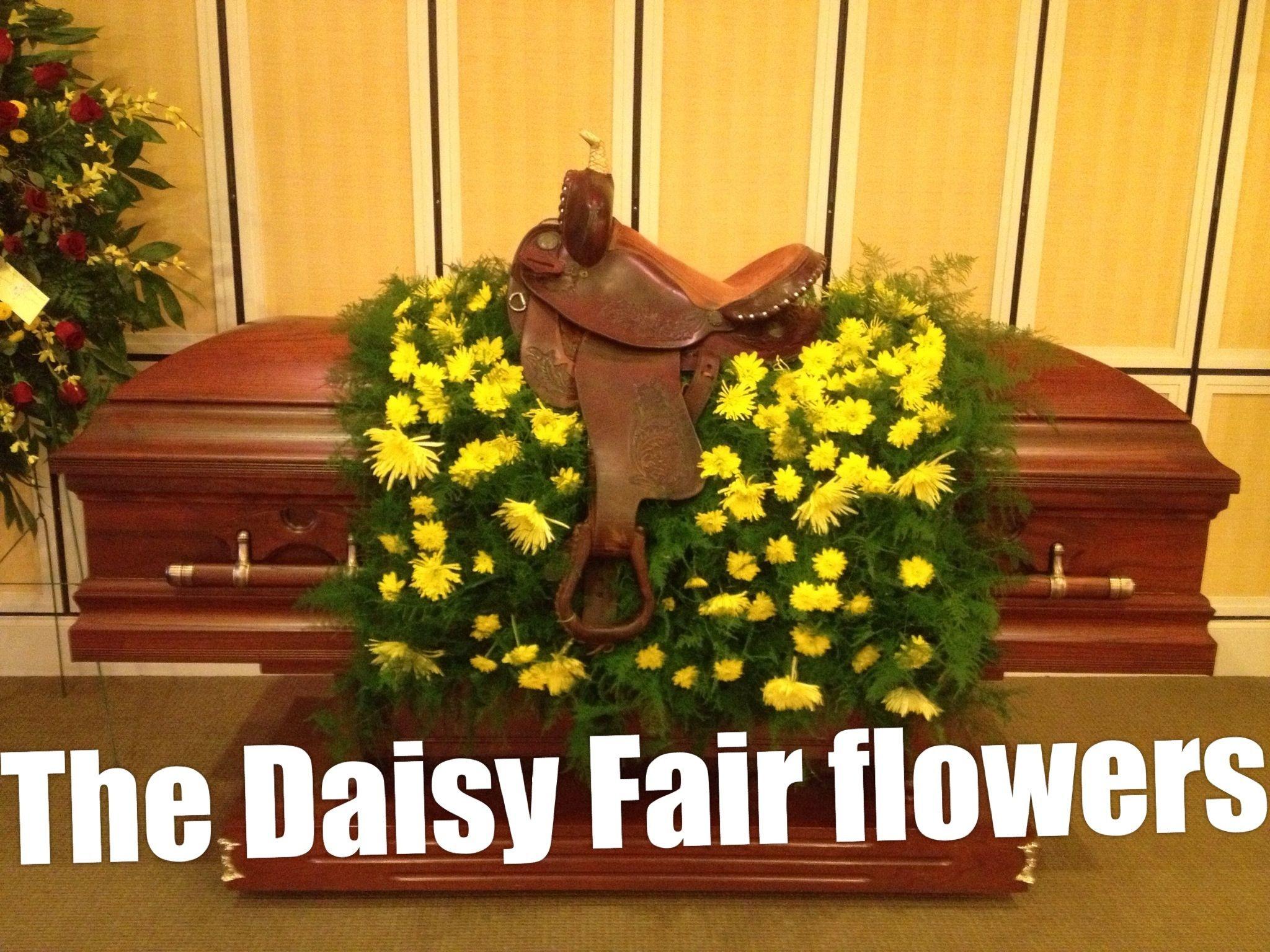 Saddle And Blanket Sympathy Pinterest Funeral Flowers Flower