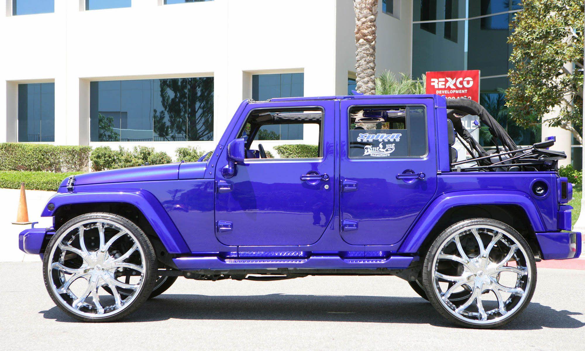 2010 jeep wrangler on 26's . . 26 inch, Big Wheel Cars