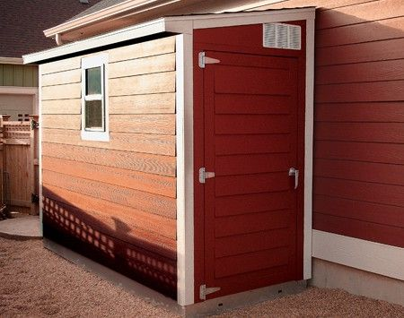 If Your Storage Needs Are Minimal, You Might Consider A Space Efficient Shed  Such As This Handsome Lean To Model .
