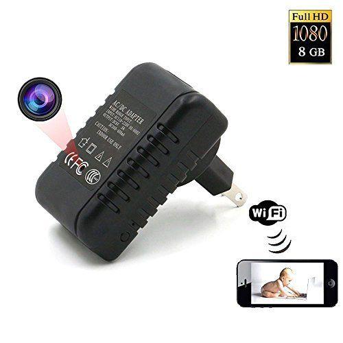 Zarsson Activated Recording Surveillance Smartphone Hidden Camera Detector Mini Spy Camera Wifi Spy Camera