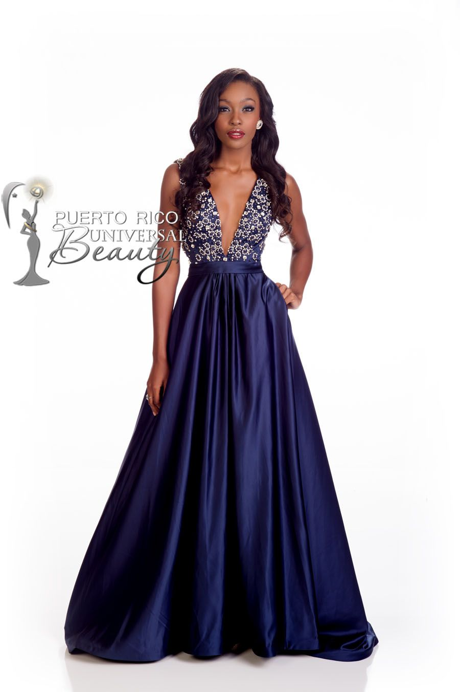 MISS UNIVERSE 2014 EVENING GOWN | Tomii Culmer, Miss Universe ...