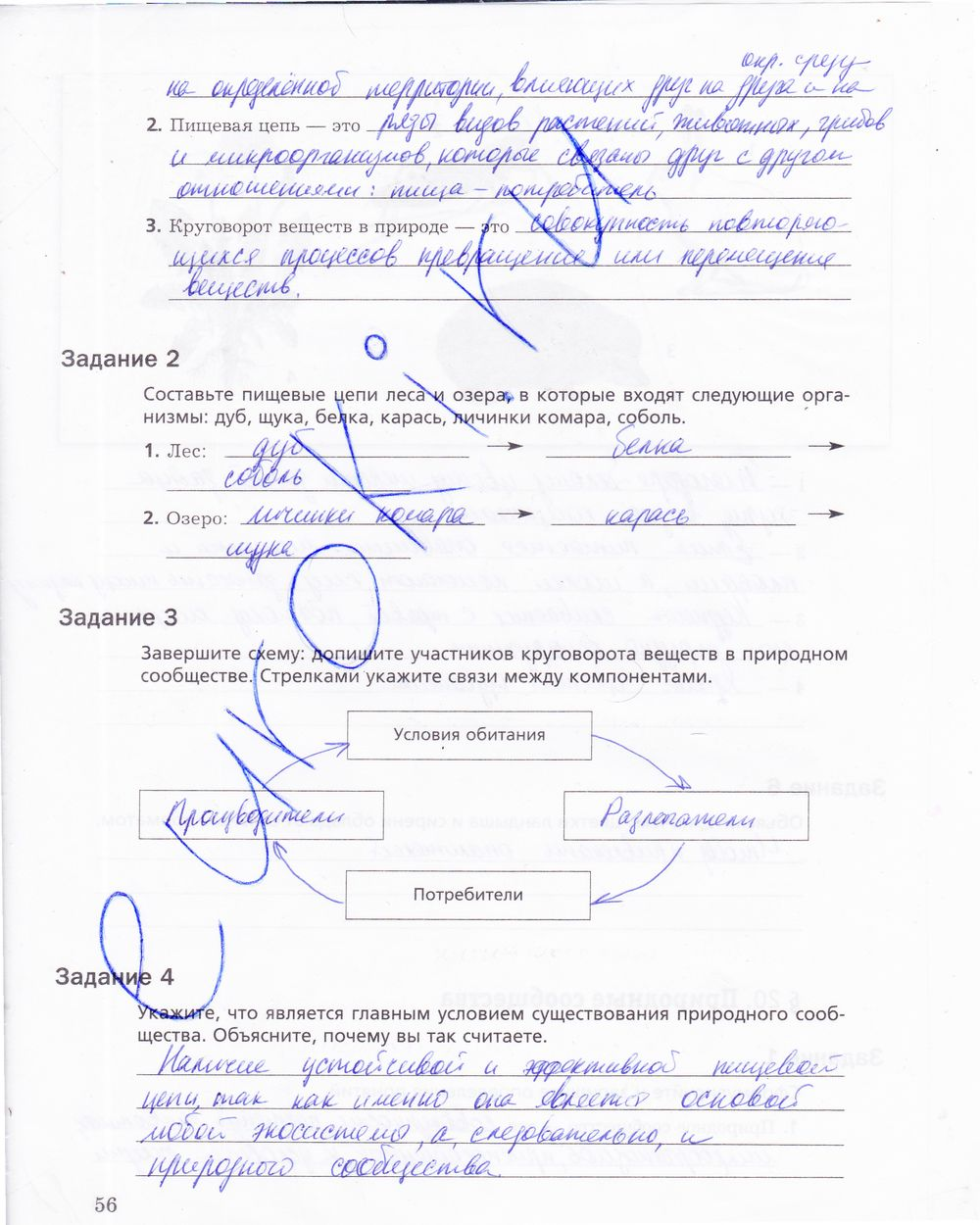 Спиши.ру 7 класс биология латюшин рабочая тетрадь вконтакте