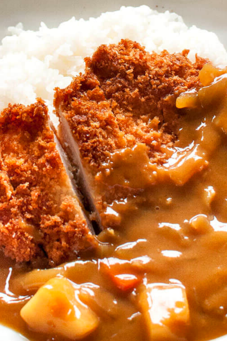 Chicken Katsu Curry Japanese Curry With Chicken Cutlet Chicken Cutlet Recipes Chicken Cutlets Chicken Katsu Curry