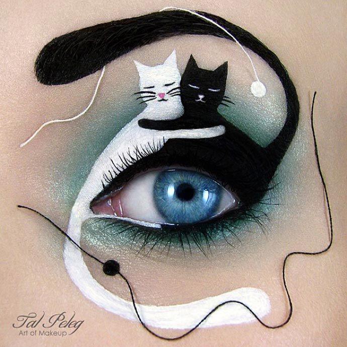 As incríveis maquiagens de Tal Peleg