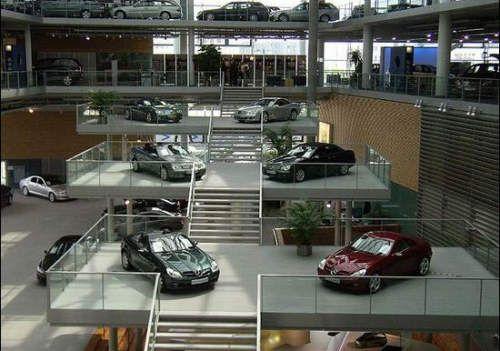 power cars the most beautiful car dealerships mercedes benz berlin