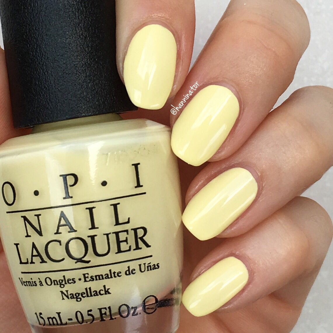 Towel Me About It - OPI Retro Summer Collection