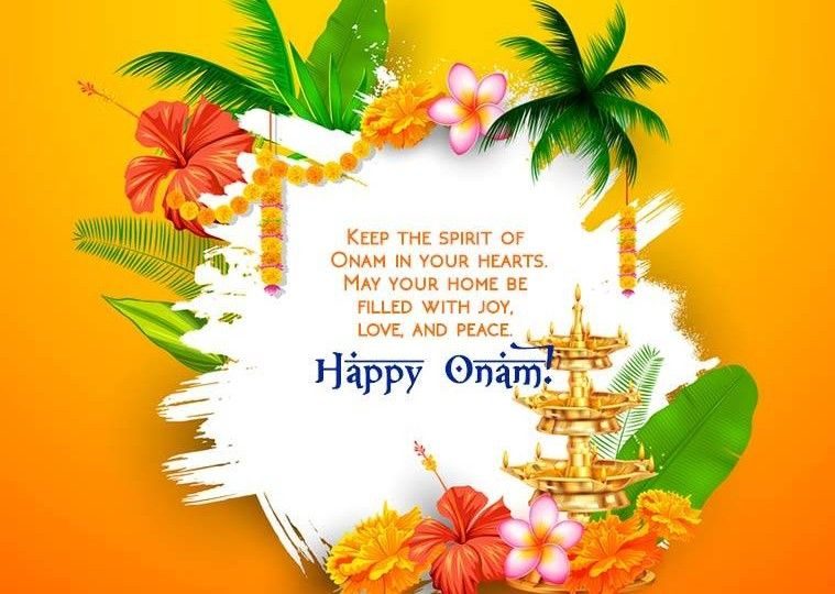 Happy Onam With Quotes Hd Greetings Wallpaperonam Greetings Hd
