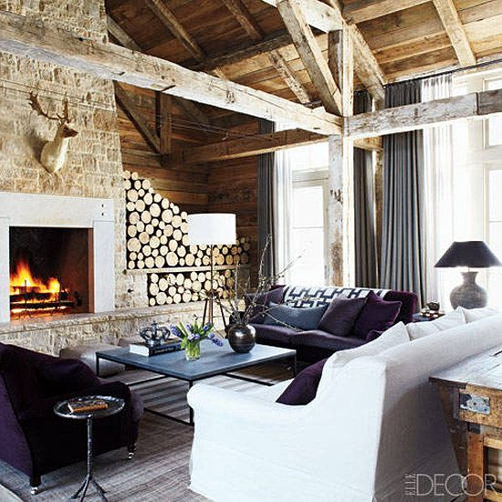 Rustic Lake House Decorating Ideas Rustic Lake House: Get The Look: A Chic Cabin That Reinvents Our Idea Of