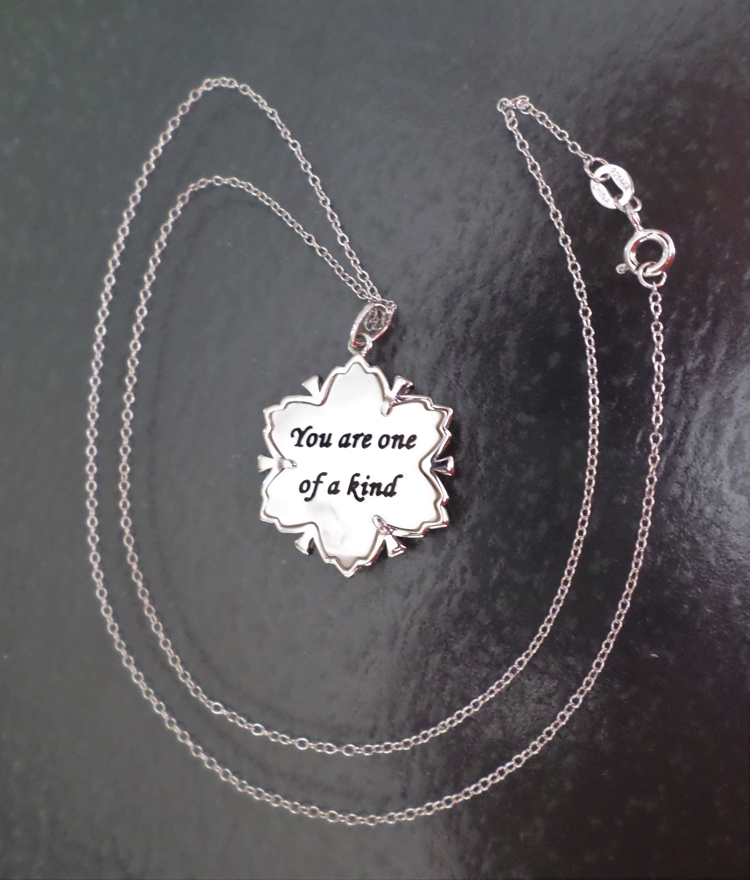 Sterling silver 925 stamped made in china ma signed inspirational sterling silver 925 stamped made in china ma signed inspirational pendant necklace mozeypictures Choice Image