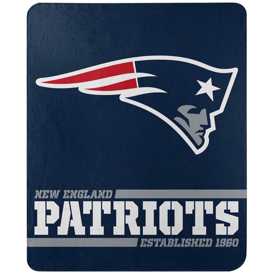 The Northwest Company New England Patriots 50 X 60 Split Wide Fleece Throw Blanket The Northwest Company New England Patriots England Patriots
