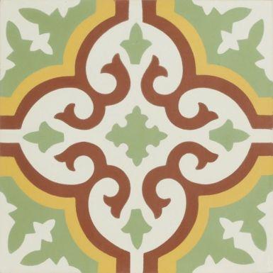 portugese-tegels -> VN Verde 12 - Designtegels
