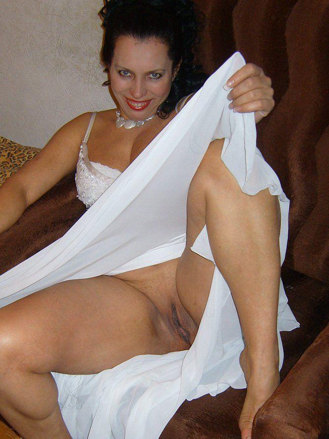 Mature nudists close up