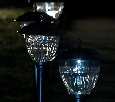 Paradise 10 Pc Solar Light Set W Lumabright Technology With Images Solar Lights 10 Things Light