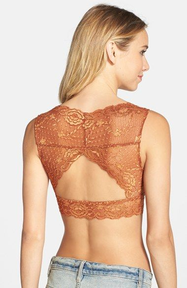 170f4168720  38 Free People  Evangelina  Lace Bralette available at  Nordstrom ...