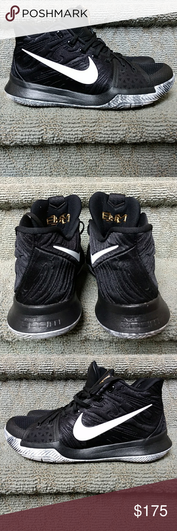 Kyrie 3 BHM (Black History Month 2017) Barely Worn! Comes