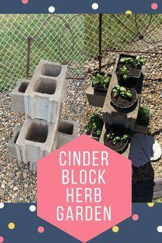 Cinder Block Herb Ga