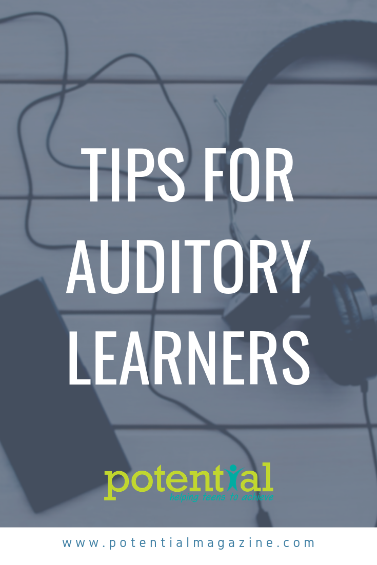 An auditory learner thrives on sound and spoken instruction