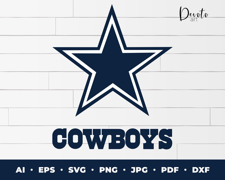 Dallas Cowboys Logo svg cowboys cricut file dallas cowboys
