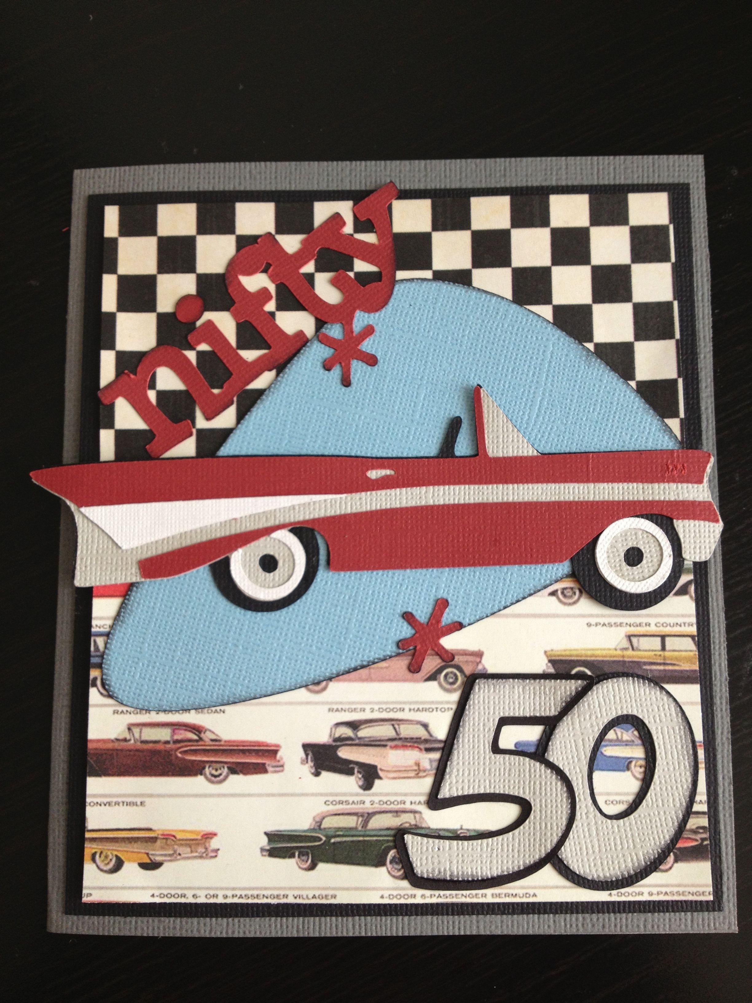 Nifty 50 card by Nancy Hopkins