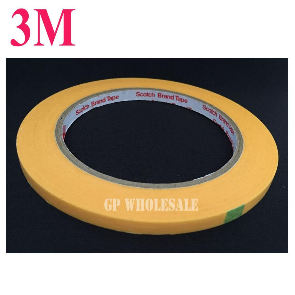 3m New 50meters Long High Temperature Resistant Adhesive Masking Tape 3m244 For Us 3 57 Masking Tape Tape Adhesive Tape