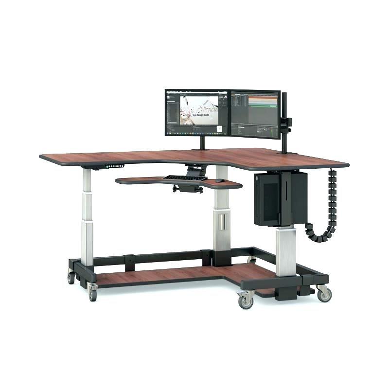 Desk With Keyboard Tray L Shaped Computer Desk With Keyboard Tray L Shaped Computer Desk With Keyboard Tra Desk With Keyboard Tray Ikea Bekant Desk Ikea Bekant