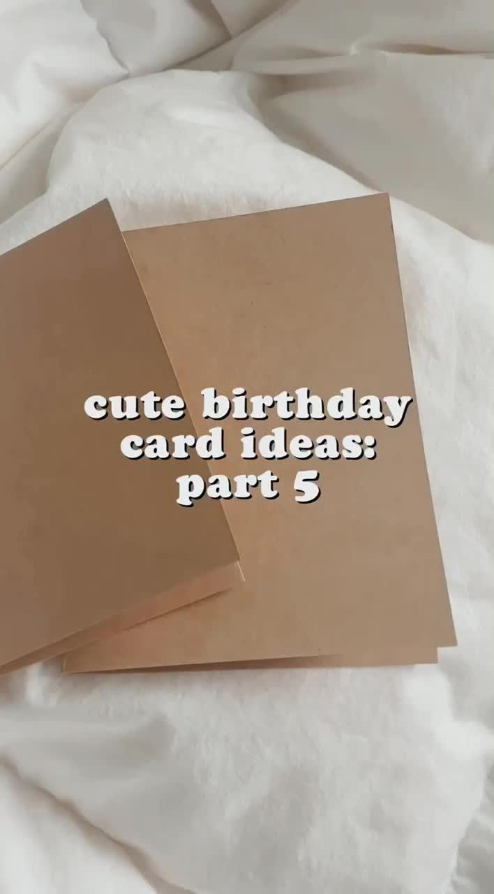 Pin by Maddie on Card Ideas in 2020 | Birthday cards, Cute ...
