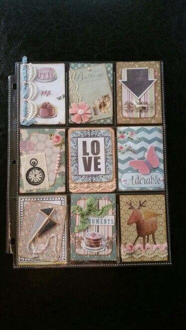 Love pocket page