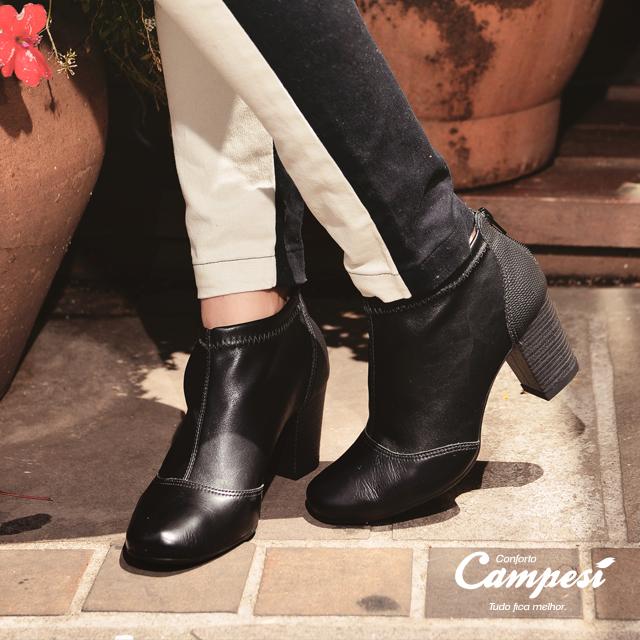 Para um sábado frio e ensolarado, nada melhor que as botas cheias de conforto da Campesí <3 Compre aqui: https://goo.gl/buj7ZY
