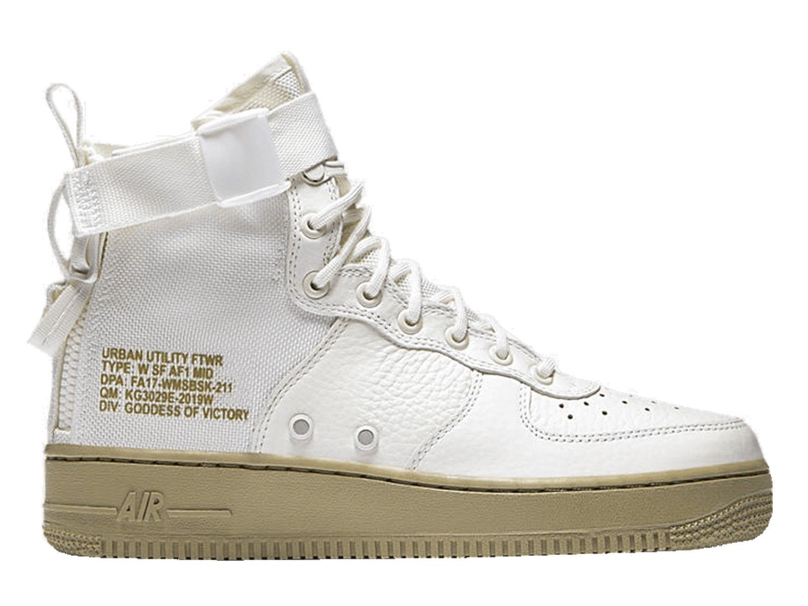 95.99 ❤ Nike Women's SF AIR FORCE 1 MID IVORY Shoes AA3966