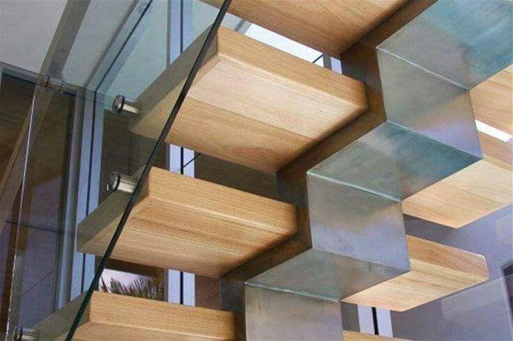 Junction detail of stair.